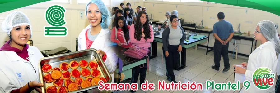 Nutrición Plantel 9
